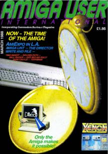 AUI cover March 1988