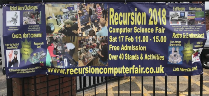 RECURSION 2018 – micro fun in the Bard's own school!