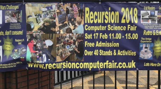 Recursion 2018 banner